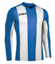 JOMA Pisa V Jersey - Royal / White (Long Sleeve)
